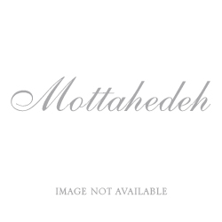 LEAF  WHITE SILK DINNER PLATE