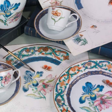 What do we make? & Fine China Dinnerware Reproductions and Original Designs - Mottahedeh